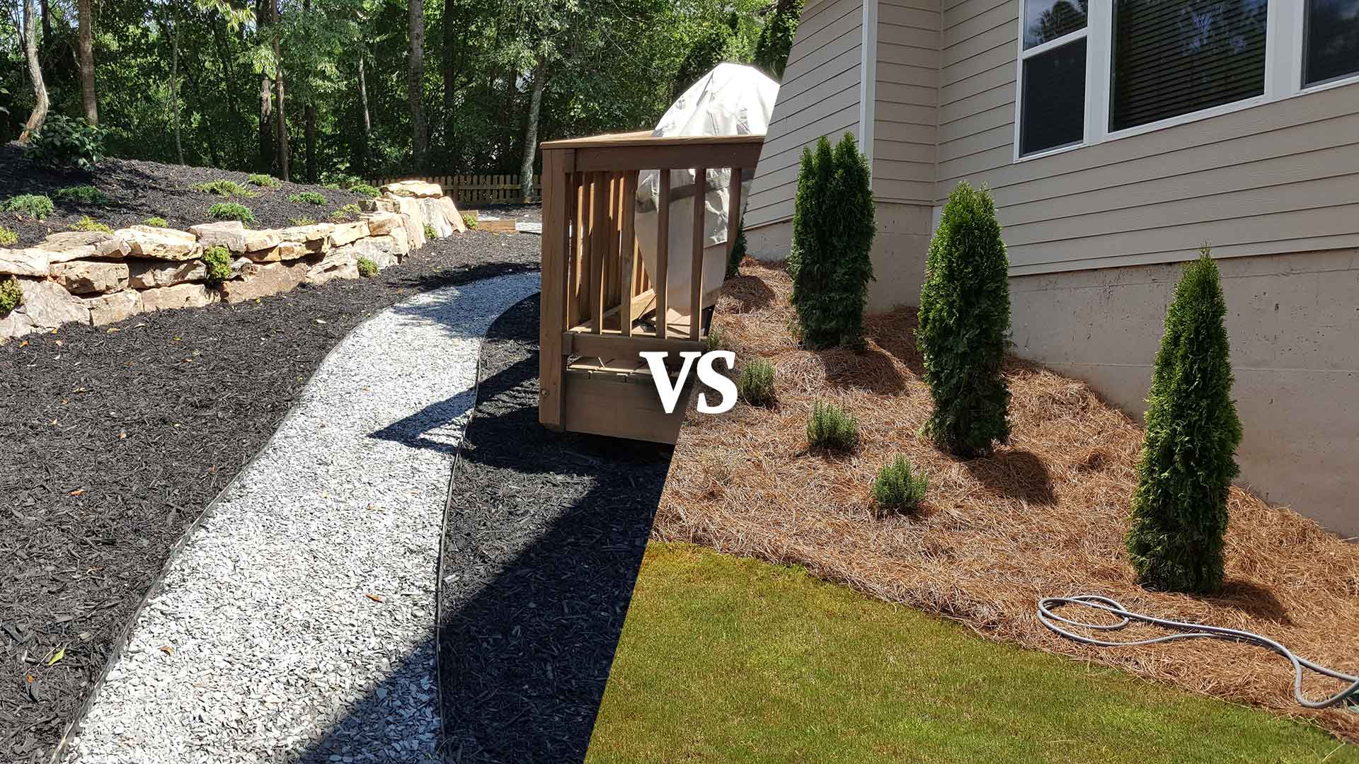 Pine Straw vs Mulch: What's Best for Your Roswell Landscaping