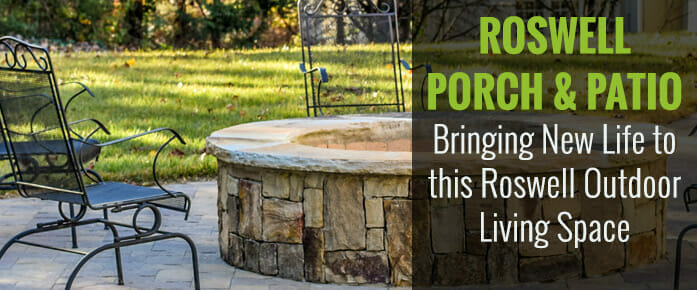 Roswell Georgia Landscaping Project